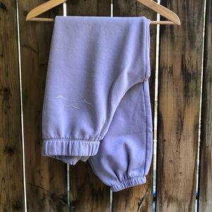 LAZYPANTS lavender sweatpants size extra small